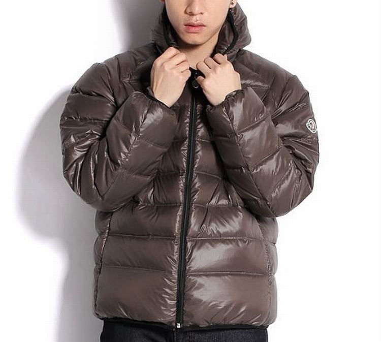 Moncler Baptiste Men Coats Brown