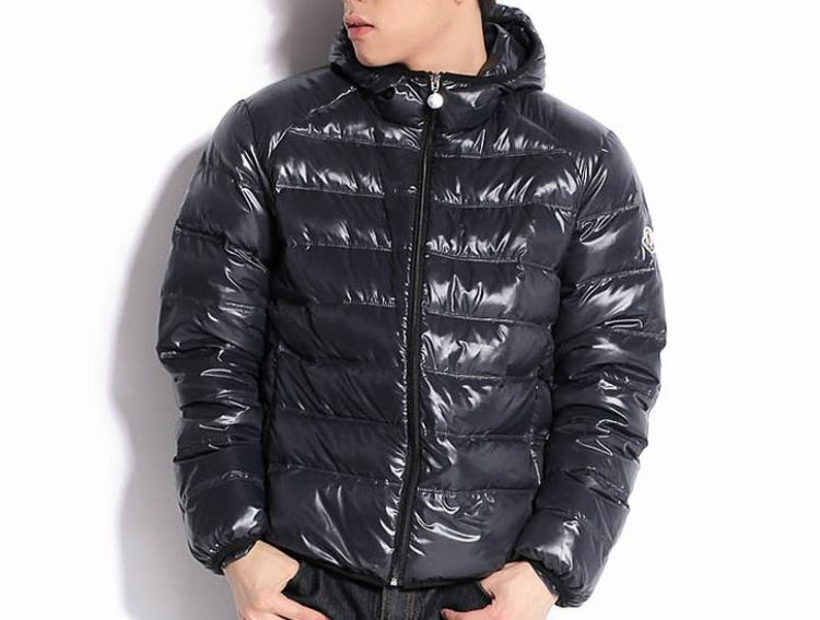 Moncler Baptiste Men Coats Dark Grey