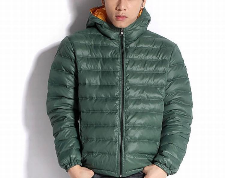 Moncler Baptiste Men Coats Green