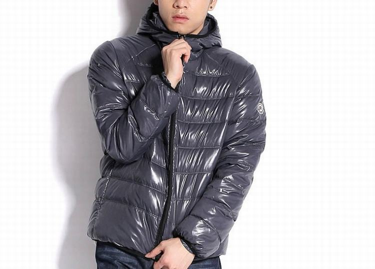 Moncler Baptiste Men Coats Grey
