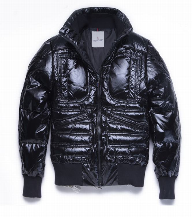 Moncler Bastille Men Coats Dark Blue