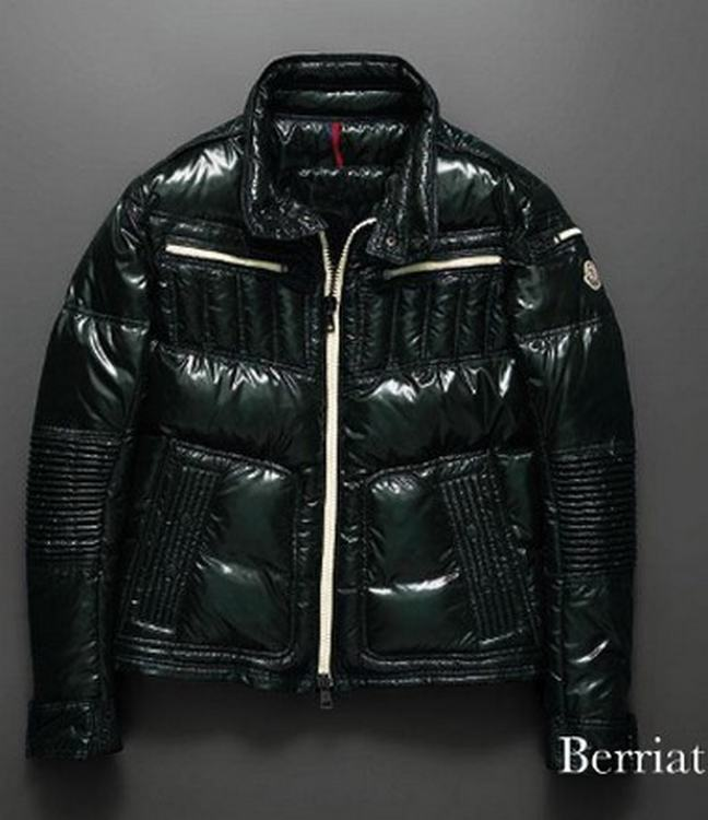 Moncler Bastille Men Coats Dark Green