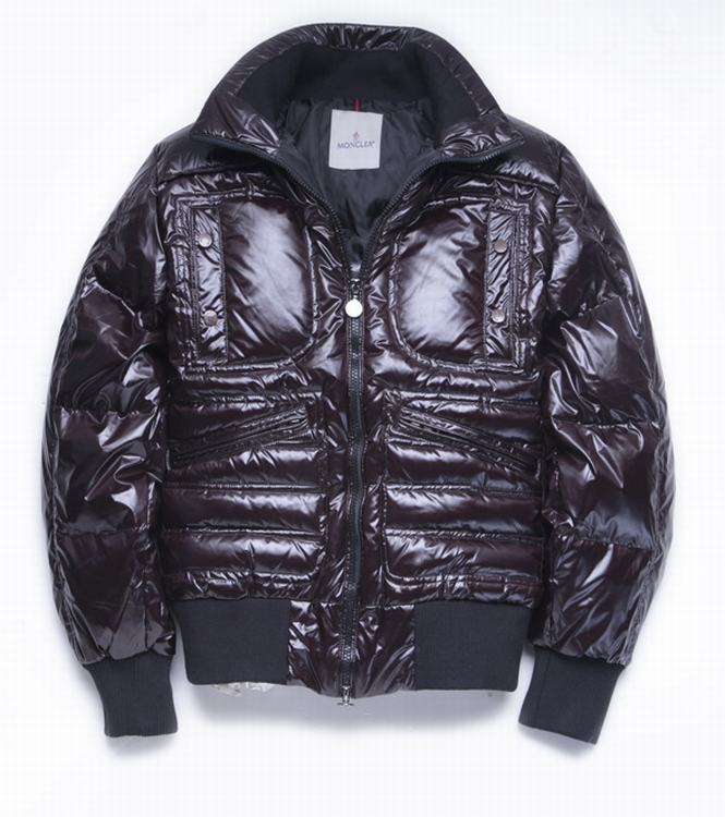 Moncler Bastille Men Coats Dark Wine Red