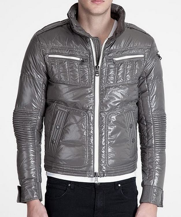 Moncler Bastille Men Coats Grey