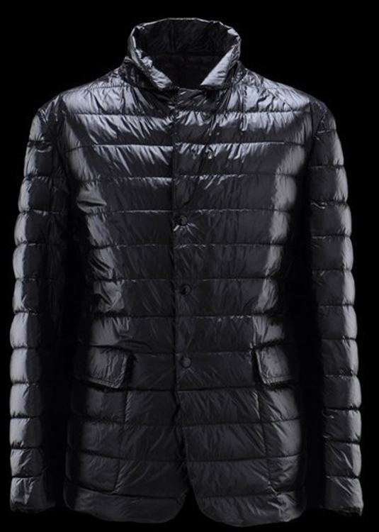 Moncler Baumier Men Coats Dark Blue