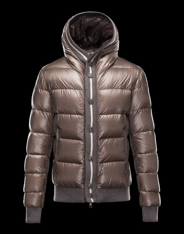 Moncler Cesar Men Coats Gold