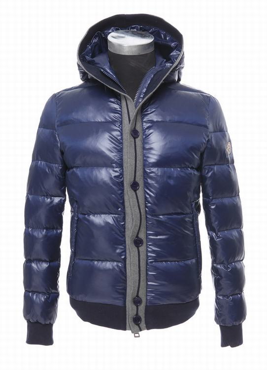 Moncler Cesar Men Coats Royal Blue