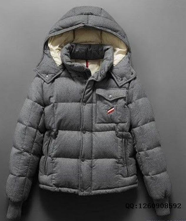 Moncler Cezanne Men Coats Grey