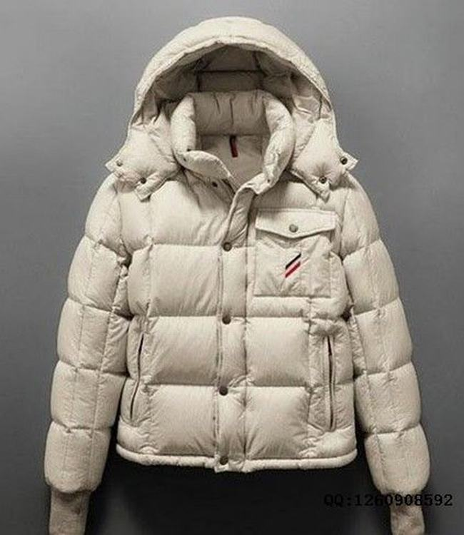 Moncler Cezanne Men Coats White