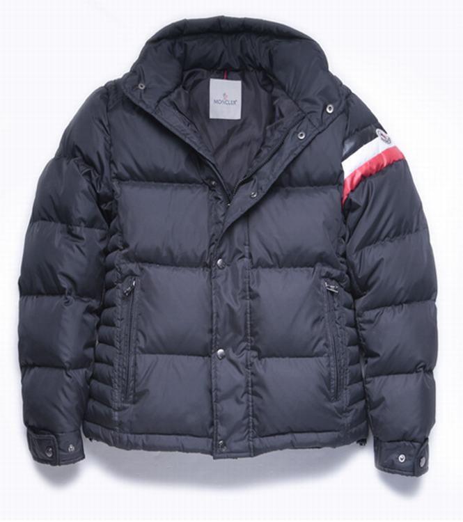 Moncler Chamonix Men Coats Blue