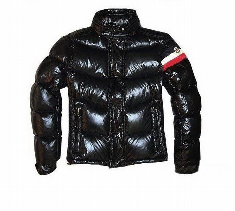 Moncler Chamonix Men Down Feather Coats Dark Brown
