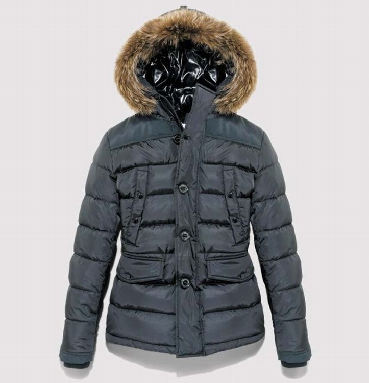 Moncler Charente Men Coats Light Blue