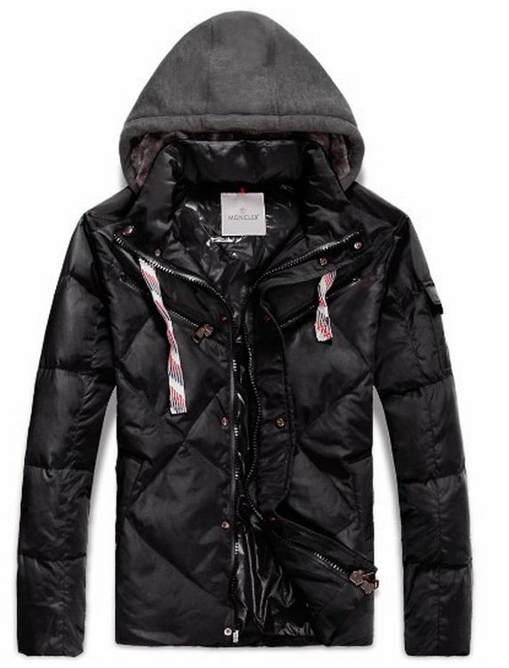 Moncler Domat Men Coats Black