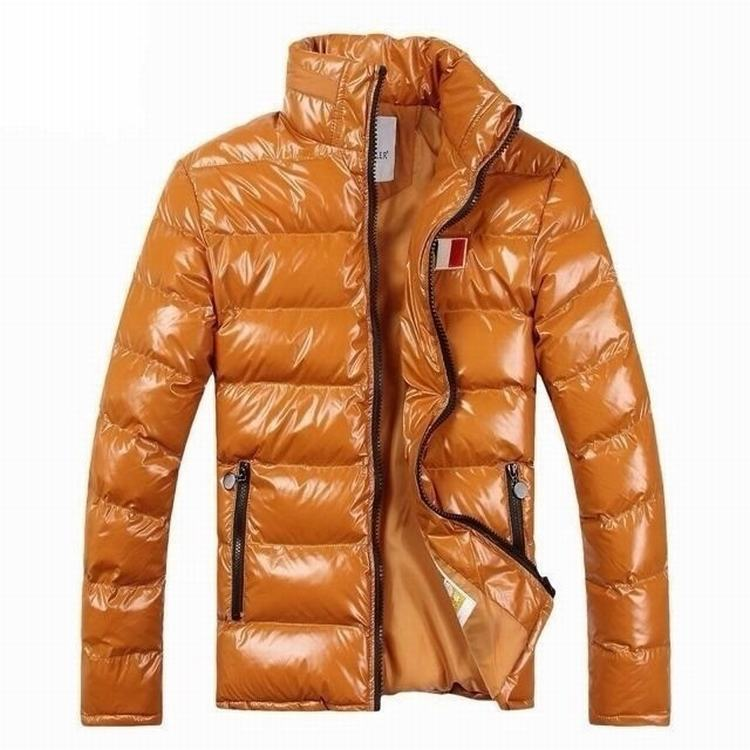 Moncler Gamme Bleu 02 Men Coats Orange