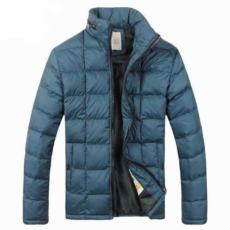 Moncler Gamme Bleu 04 Men Coats Light Blue