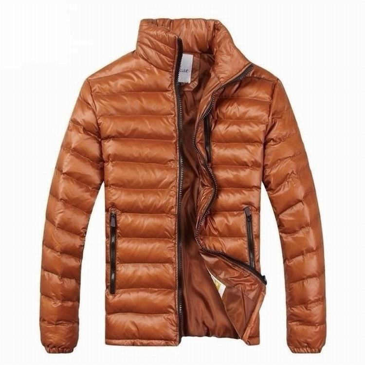 Moncler Gamme Bleu 05 Men Coats Orange