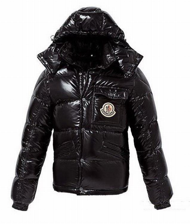 Moncler Karak Men Coats Dark Brown