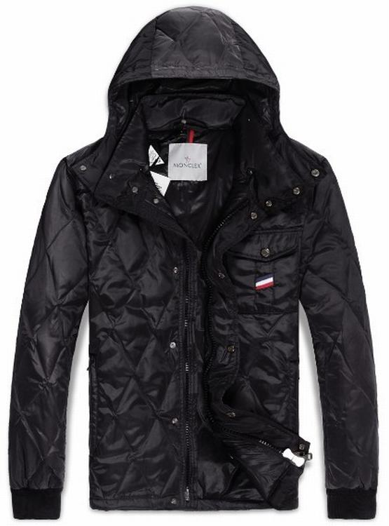 Moncler Maubeuge Men Coats Dark Red