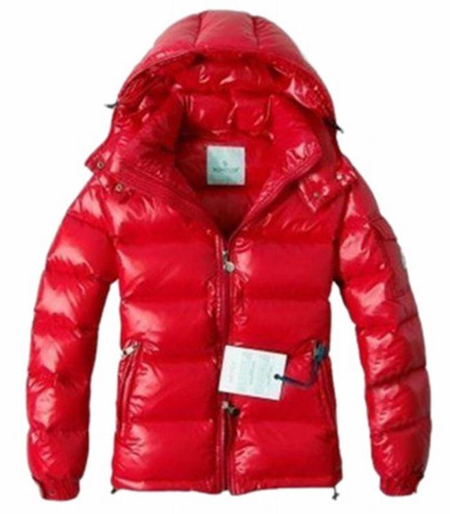 Moncler Maya Men Coats Chinese Red