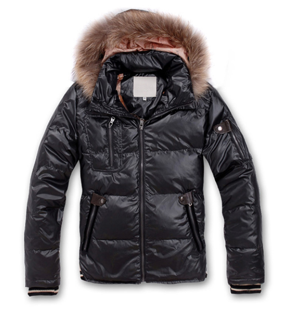 Moncler Men Outwears Black
