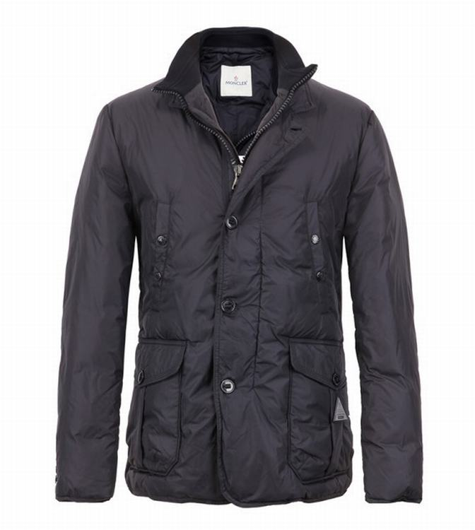 Moncler Tany Men Coats Grey Red