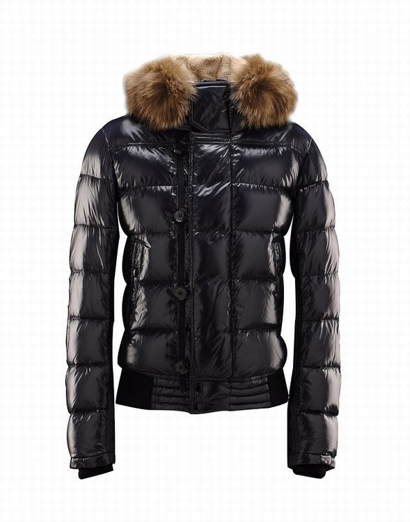 Moncler Veyle Men Coats Dark Blue
