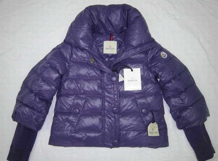 Moncler Tulsa Women Coats Purple