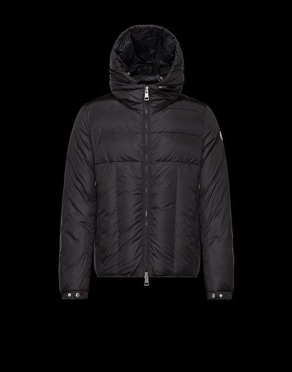 Moncler Barthet Men Coats Black