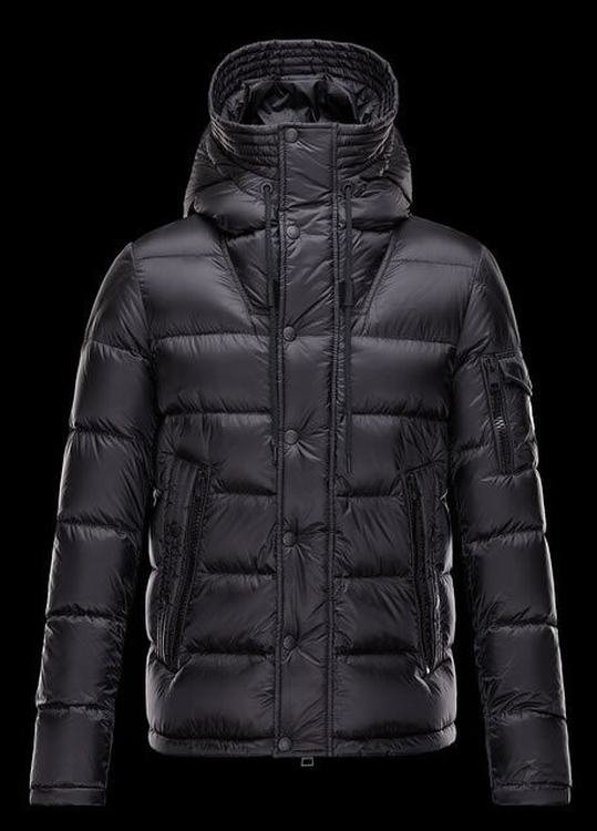 Moncler Basile Men Coats Black