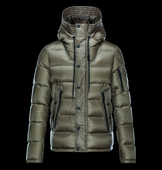 Moncler Basile Men Coats Green