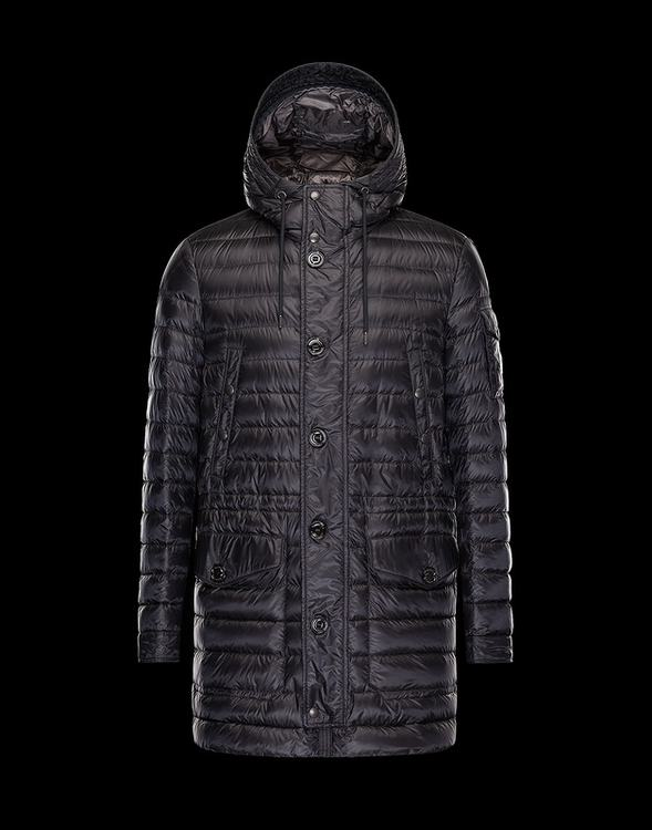 Moncler Benjamin Men Coats Dark Purple