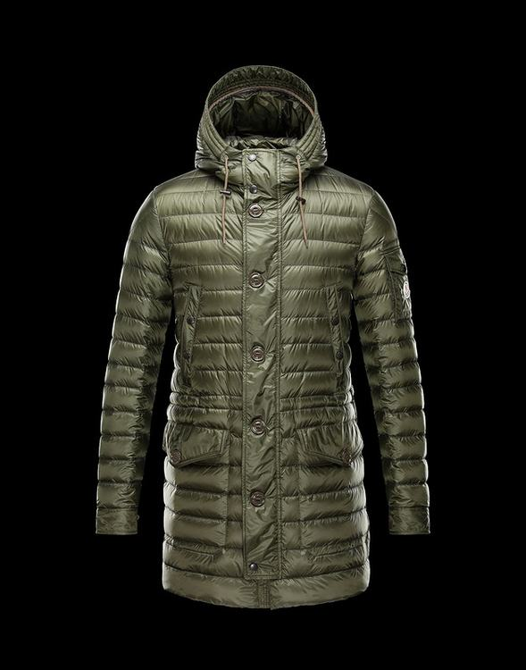 Moncler Benjamin Men Coats Green