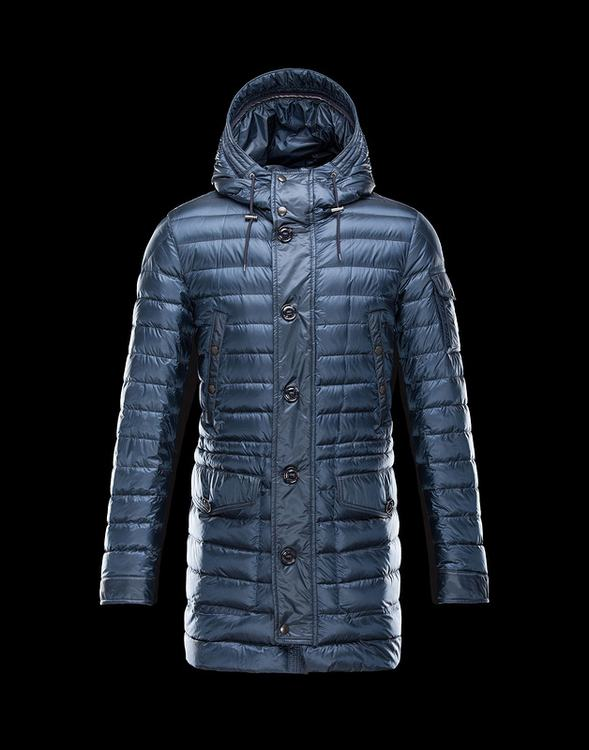 Moncler Benjamin Men Coats Sky Blue