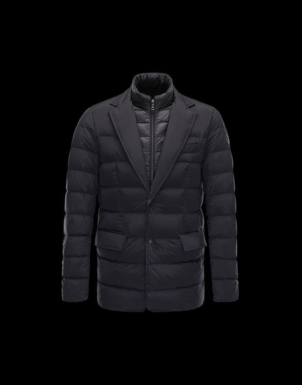Moncler Ferrand Men Coats Black