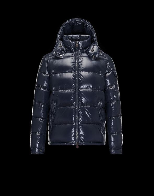 Moncler Maya 2017 Men Coats Dark Blue