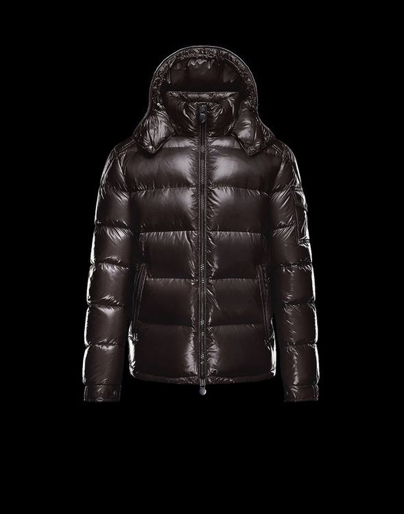 Moncler Maya 2017 Men Coats Dark Brown