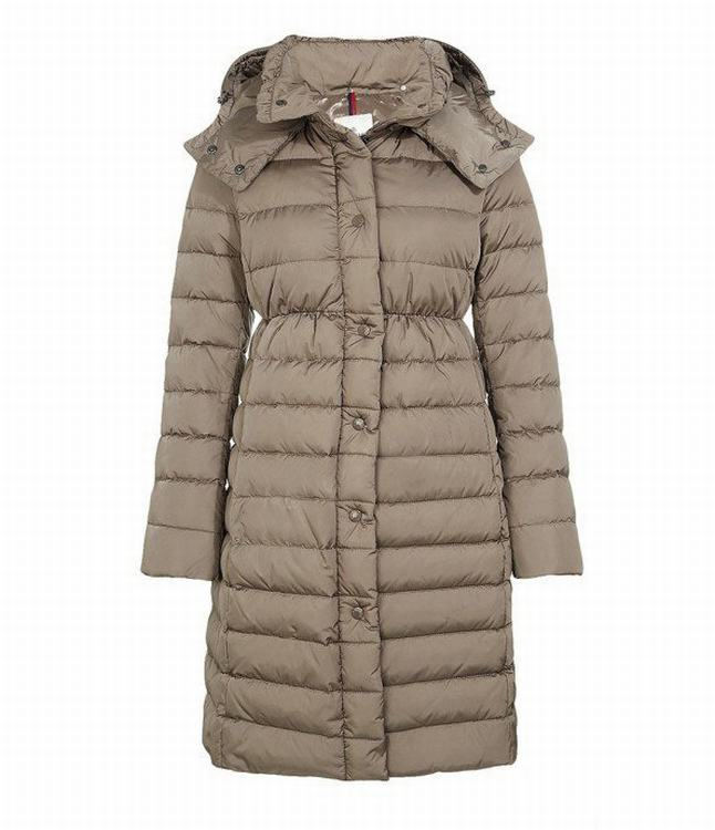 Moncler Adoxa Women Coats Brown