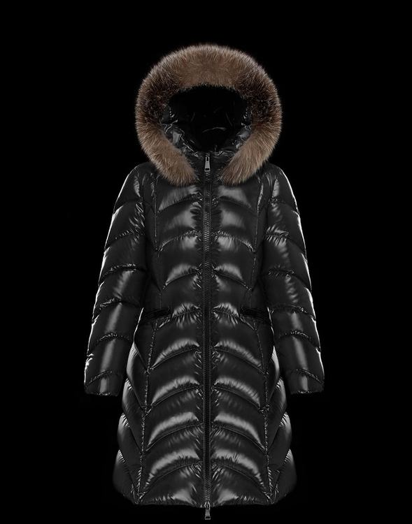Moncler Albizia Women Coats Black