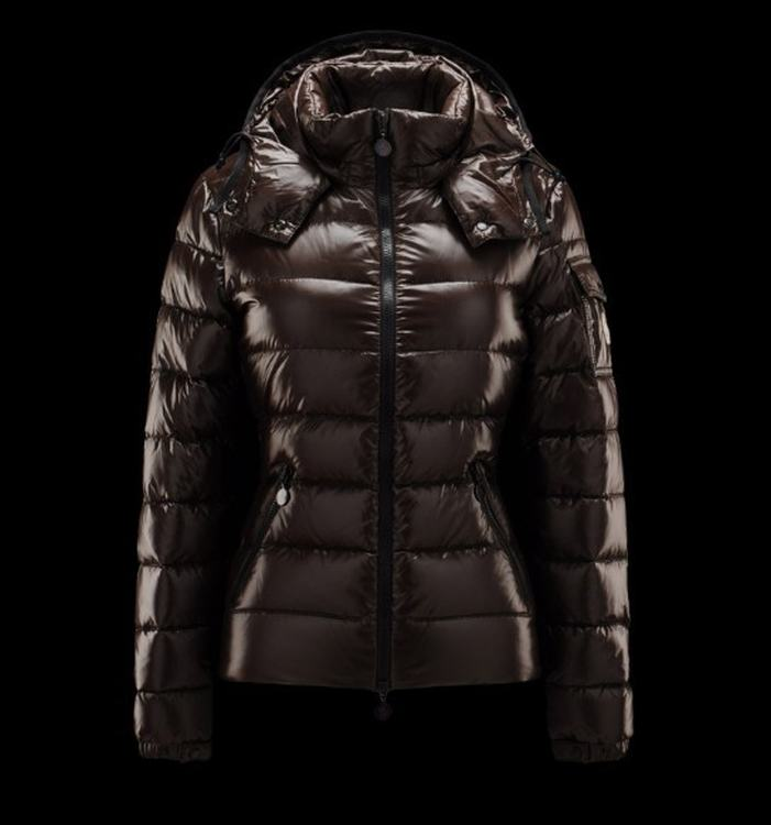 Moncler Bady Women Coats Dark Brown