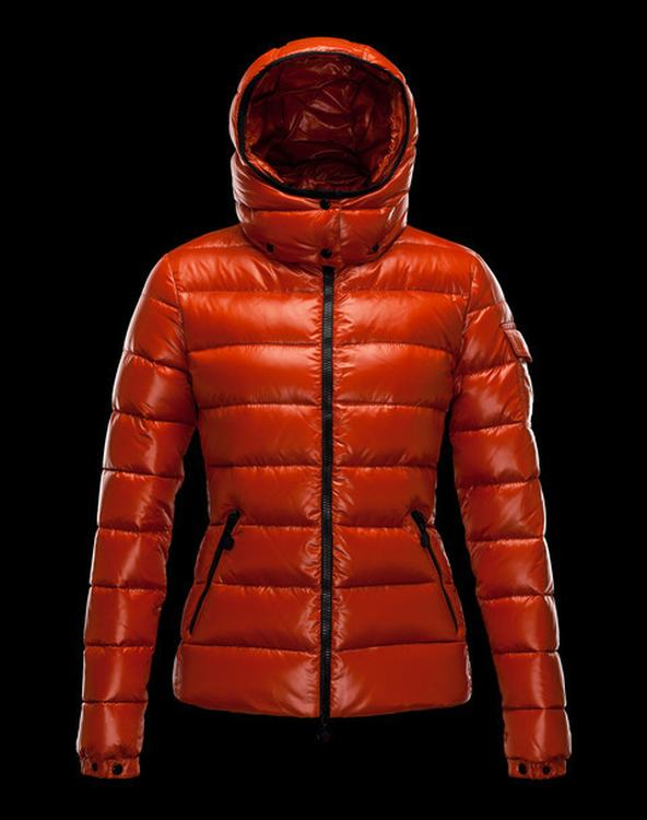 Moncler Bady Women Coats Dark Orange