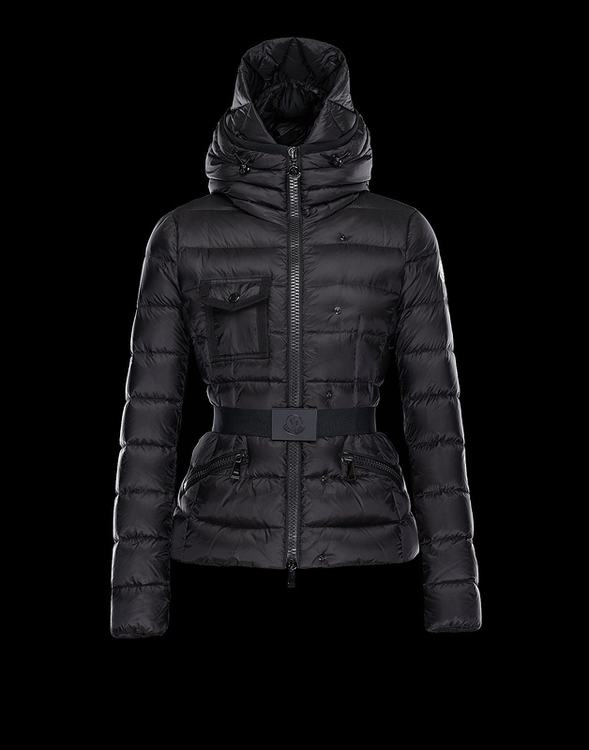 Moncler Cheverny Women Coats Dark Blue