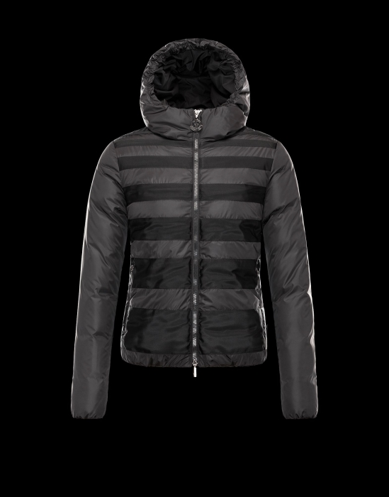 Moncler Chicoree Women Coats Grey Black