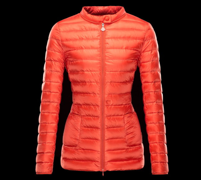 Moncler Dali Women Coats Orange
