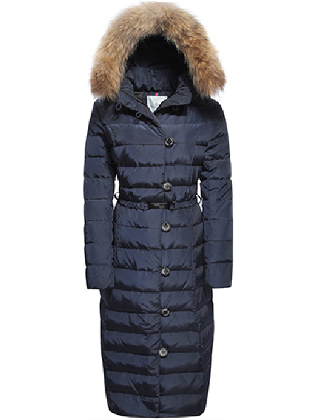 Moncler Gamme Rouge Women Coats Blue