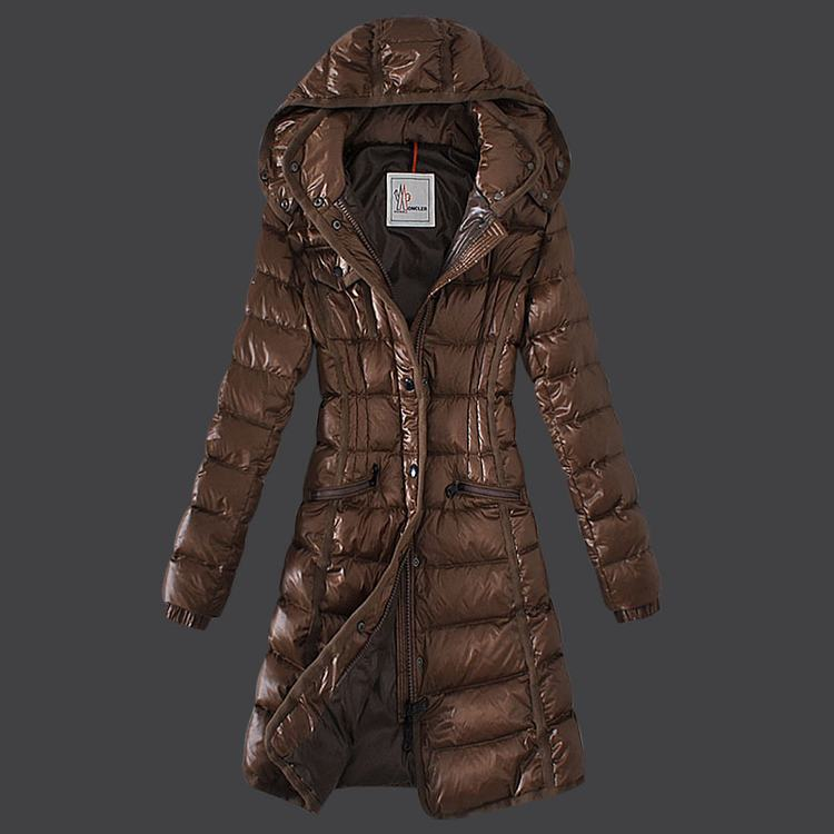 Moncler Grenoble 18 Women Coats Brown