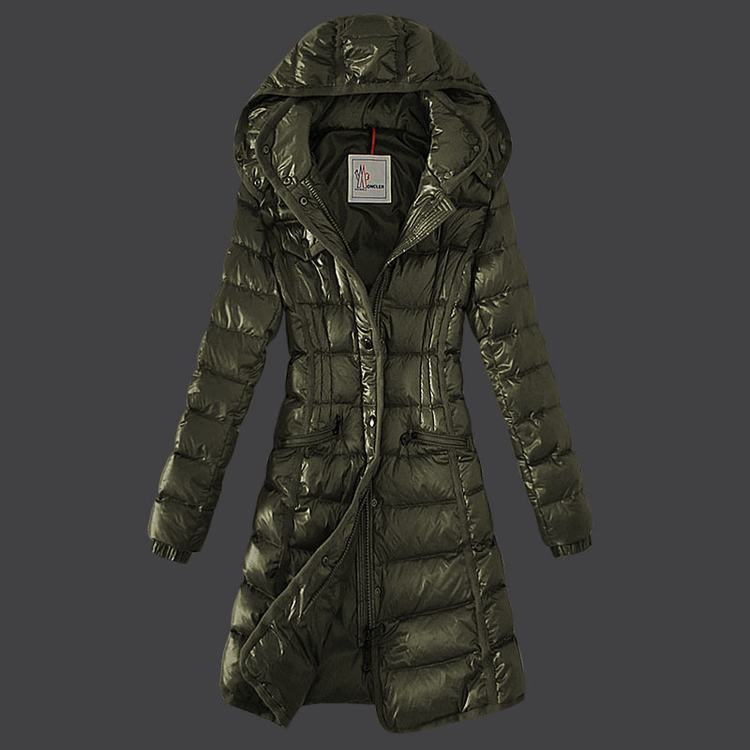 Moncler Grenoble 18 Women Coats Green