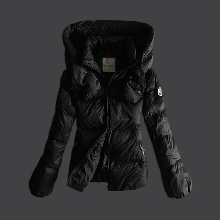 Moncler Mengs Women Coats Black