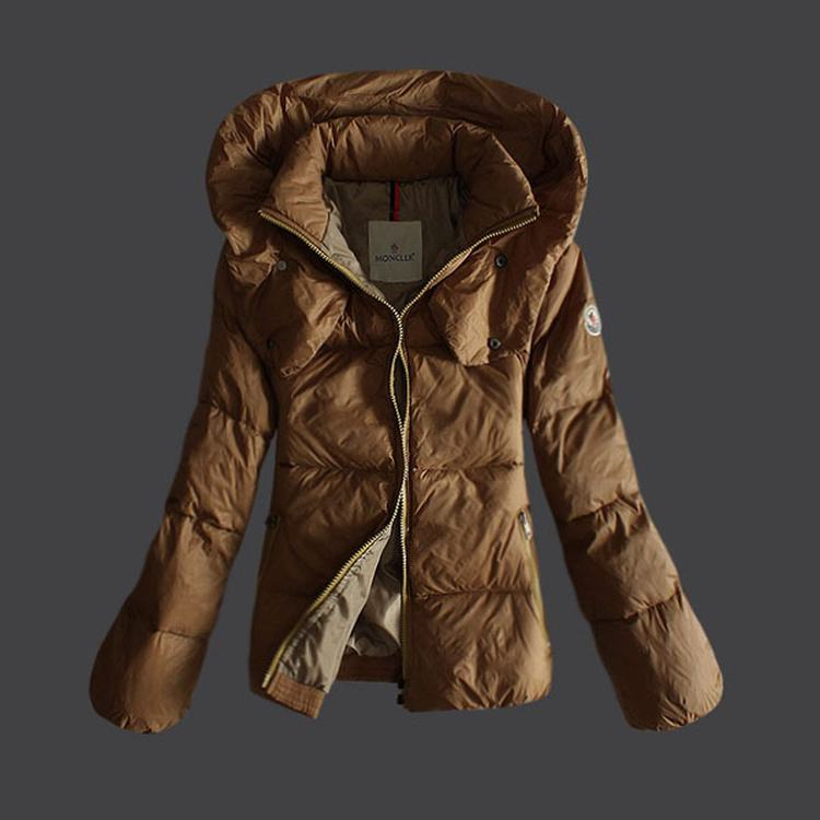 Moncler Mengs Women Coats Brown