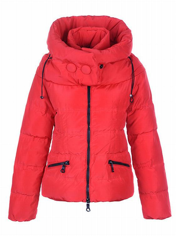 Moncler Mengs Women Coats Red