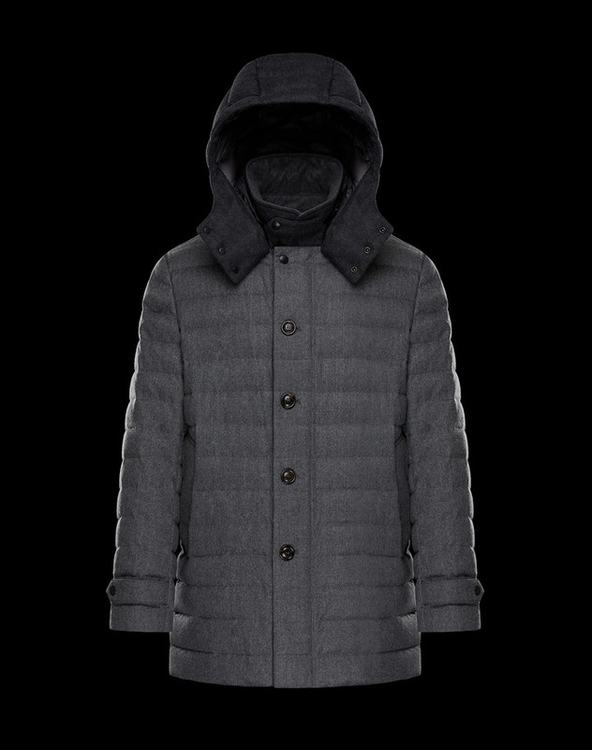 MONCLER MAURICE Men Gray